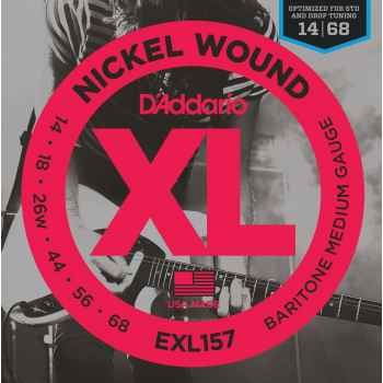 D´addario EXL157 - XL Guitarra barítono cuerdas para Guitarra Eléctricas